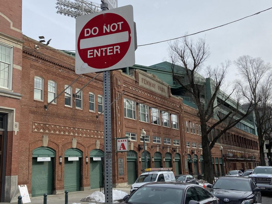 Fenway+Park%2C+just+blocks+from+Northeastern%2C+was+home+to+the+2018+world+champion+Boston+Red+Sox.+