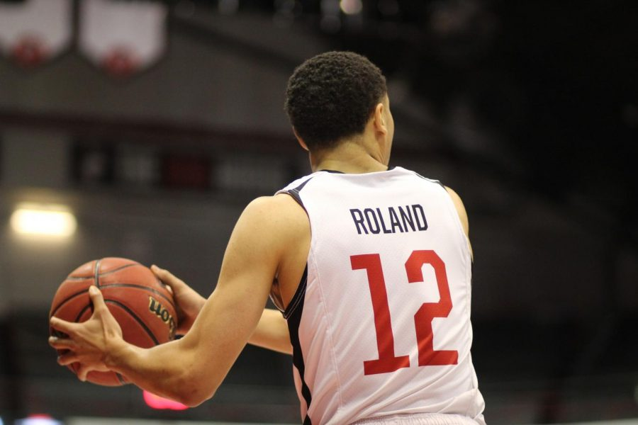Roland+scored+42+points+in+the+season+opener+against+Harvard+on+11%2F8.