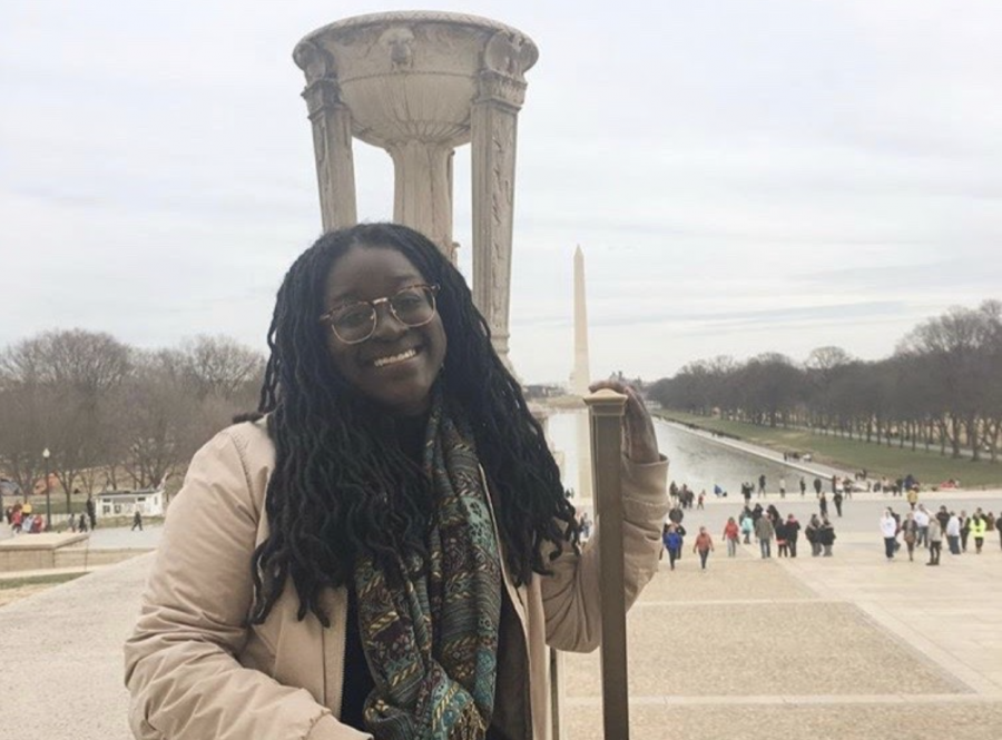 Fourth-year journalism major Zipporah Osei completed a co-op in Washington D.C.