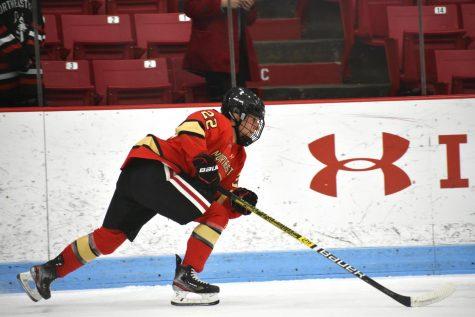 No. 3 women's hockey defeats Harvard 3-1 to move to Beanpot final