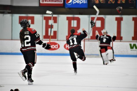 Drought ends: NU wins record 17th Beanpot with MacInnis double OT winner