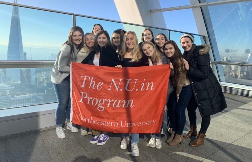 The N.U.in program, started in 2007, is a unique global experience in which first-year students spend their first semester of college abroad on campuses in Australia, Ireland, Germany, England, the Czech Republic, Canada, Greece or Italy.