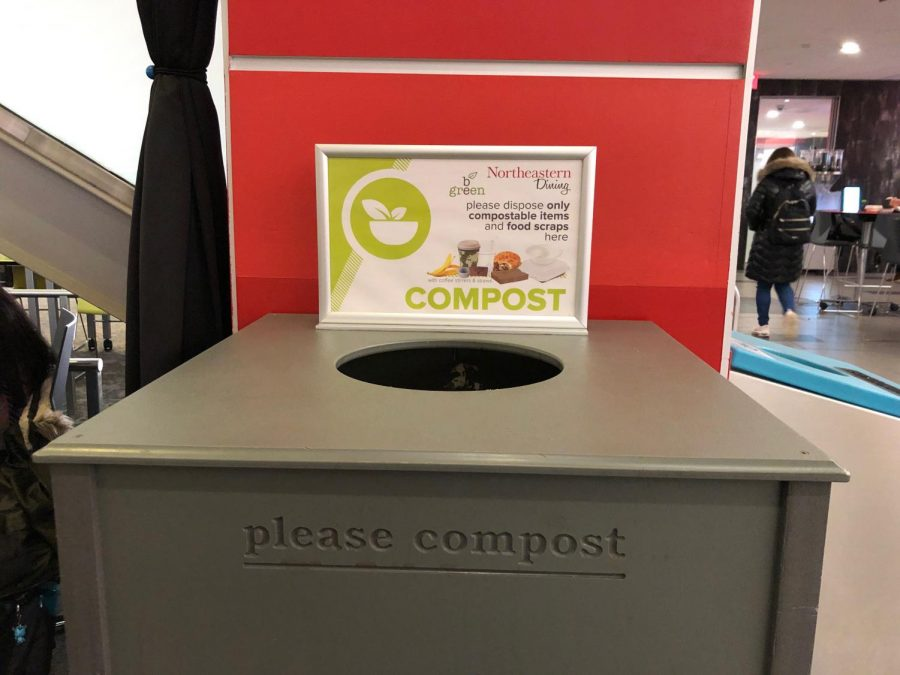 Composting at Northeastern University, or CANU, is promoting composting around campus.