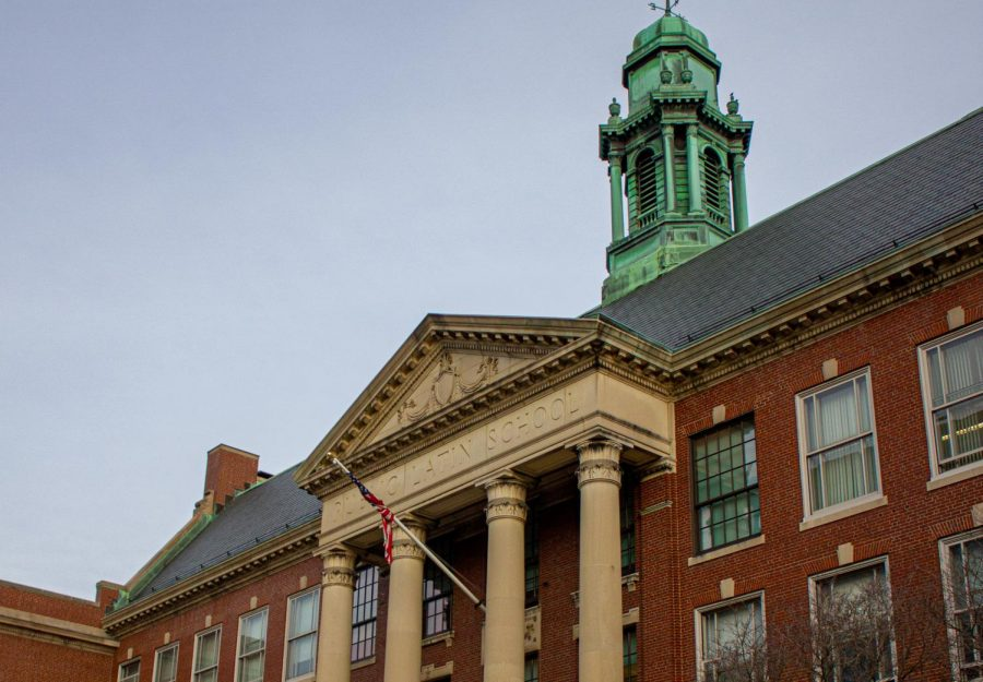 The Boston Latin School is one of the city's three exam schools.