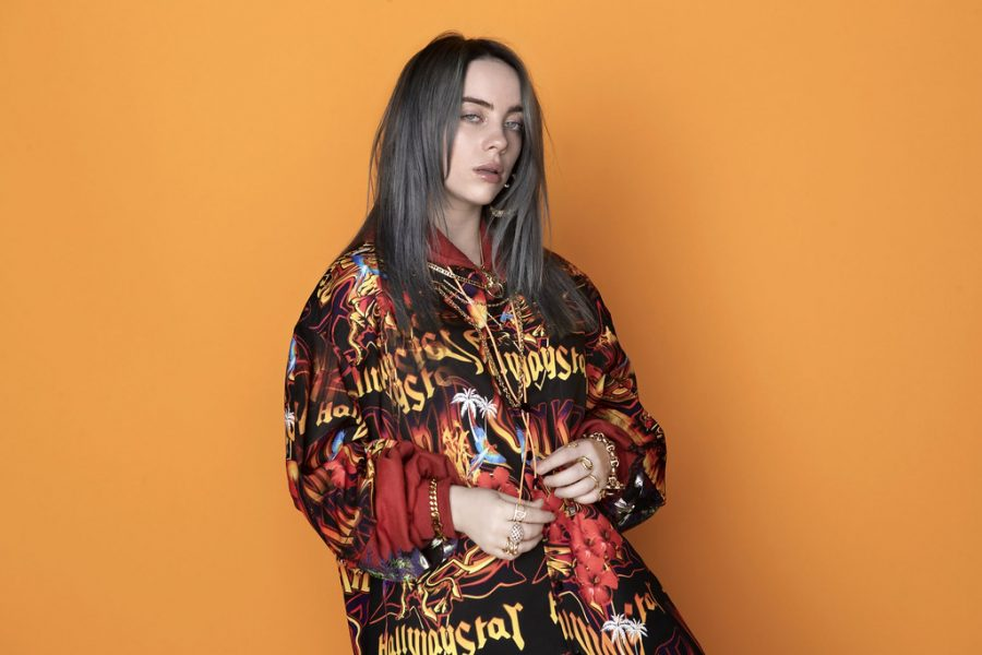 Billie+Eilish+took+home+four+awards+from+the+Grammys+on+Jan.+26.