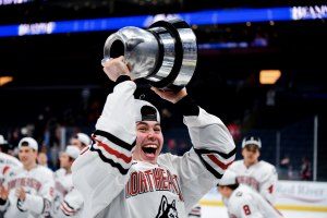 A first and a last Beanpot: A dream come true for McDonough and Picking