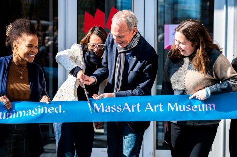 The MassArt Museum held its grand opening on Feb. 22.
