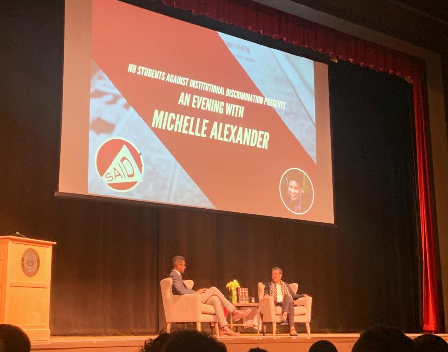 Michelle Alexander discusses 'The New Jim Crow' at Northeastern