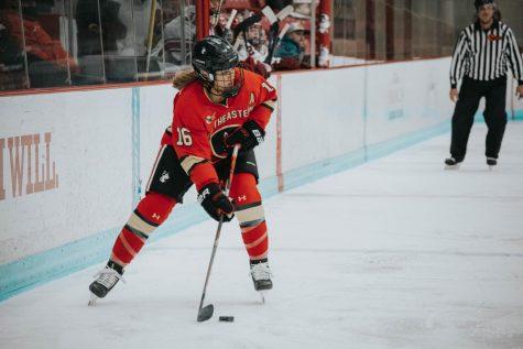 No. 2 women's hockey handles Merrimack with ease, 5-1