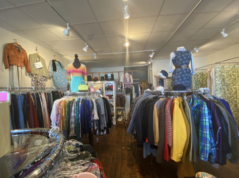 Thrift shopping is an inexpensive way to get high quality clothing and there are lots of affordable options near NU.