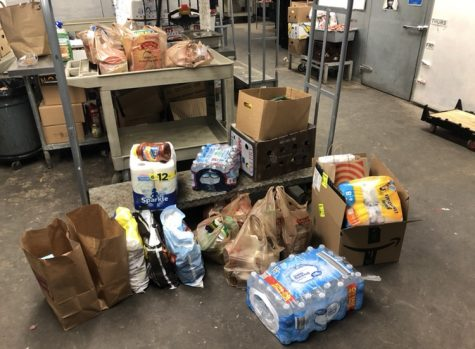 NU student raises over $2,000 for food banks