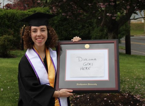 Without virtual commencement, students fill the void with at-home celebrations