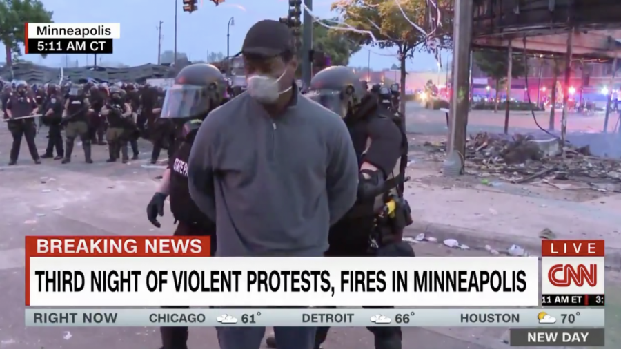 CNN reporter Omar Jimenez was arrested in Minneapolis early May 29, despite identifying himself as a reporter and offering to move.