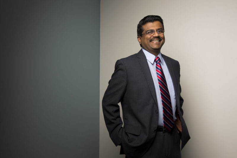 """The pandemic gives us a lot of challenges and a lot of opportunities to serve the students and to also think about engaging and supporting students' needs differently,"" Northeastern's Vice President of Enrollment Management Sundar Kumarasamy said."