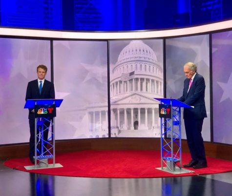 Sen. Ed Markey and Rep. Joe Kennedy III face off in a fiery debate for Massachusetts senate seat.