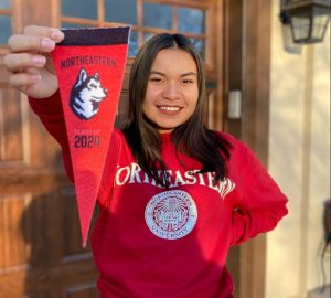 Olivia Fernandez, an incoming first-year student from Colorado.