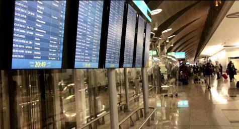 To return home, many international students must pass through busy travel hubs, like Dubai International Airport.