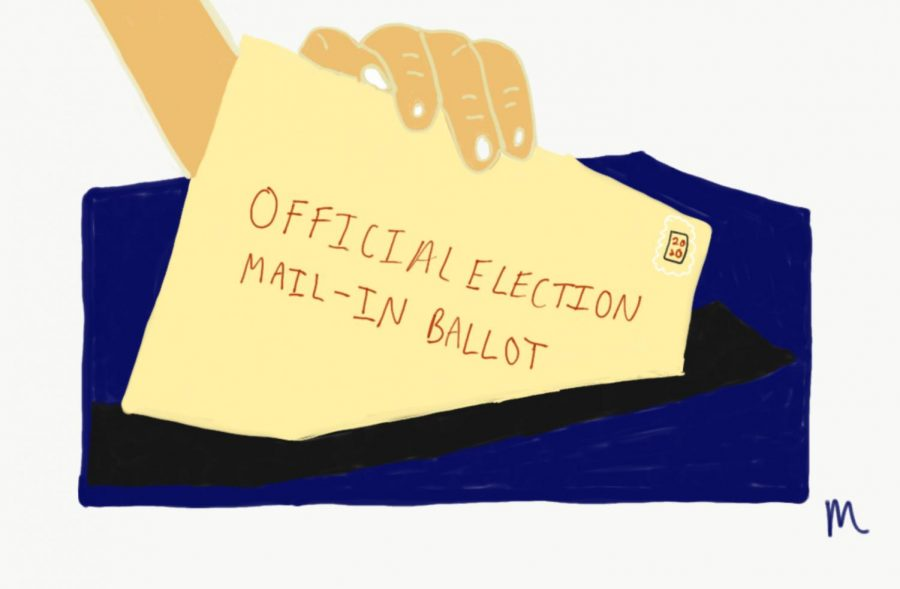 Some+Americans+are+concerned+their+votes+won%27t+be+counted+if+the+USPS+cannot+handle+the+influx+of+mail-in+ballots.