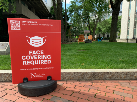 Students returning to campus in the fall will be required to wear face coverings at all times to keep the community safe.