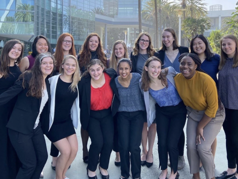 """""""We're just trying to make sure that we're aware that we're all in the same boat and that we can help each other just by being there for each other,"""" said Carey Tassel, vice president of the Society of Women Engineers."""