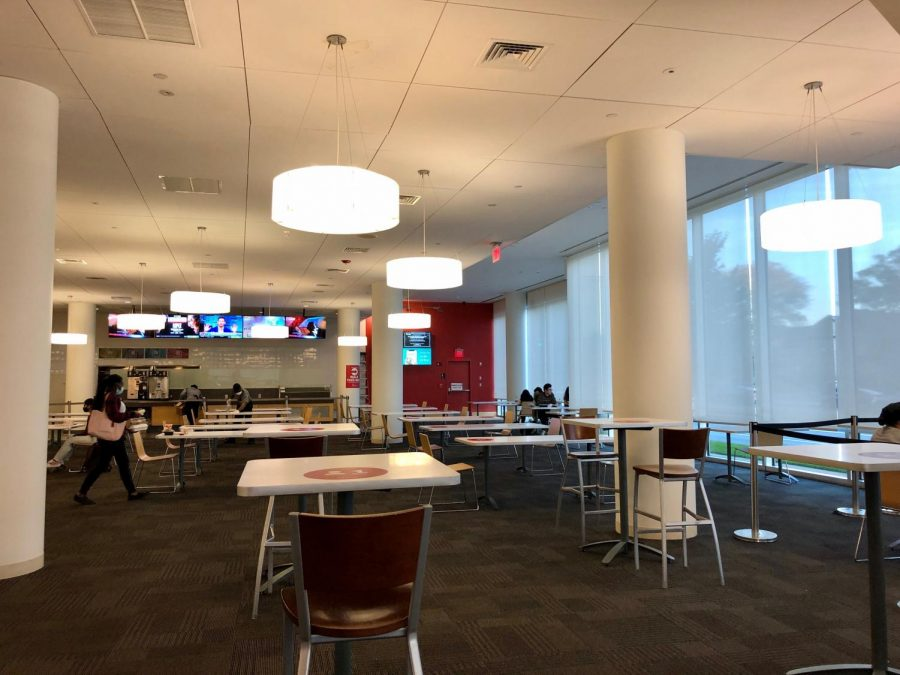 Indoor dining is also once again available at dining halls across campus.