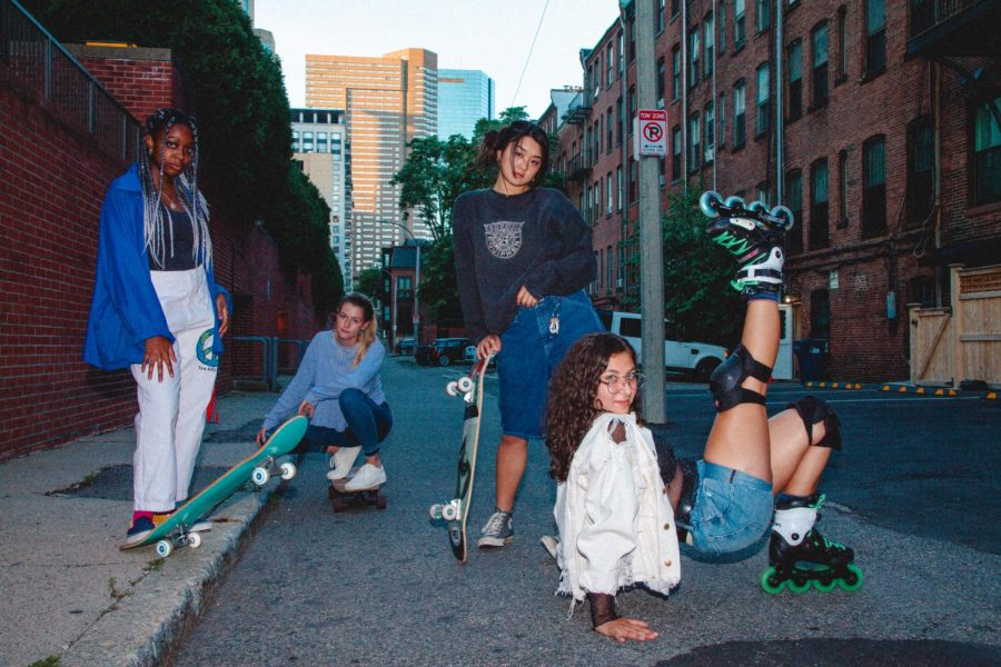 LonelyGrl Skate Co. offers an inclusive community for female identifying skaters on campus.