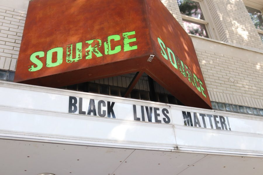 Theaters in Boston stand in solidarity with the Black Lives Matter movement.