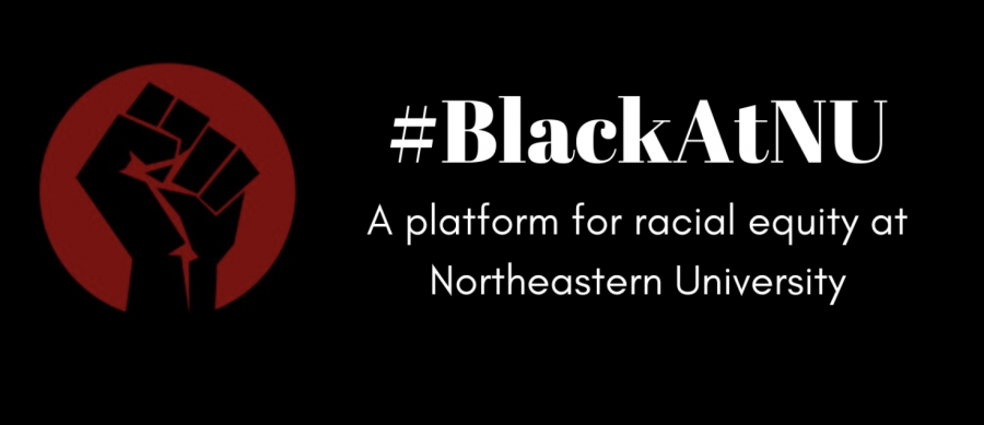 The logo found at BlackAtNU's website.