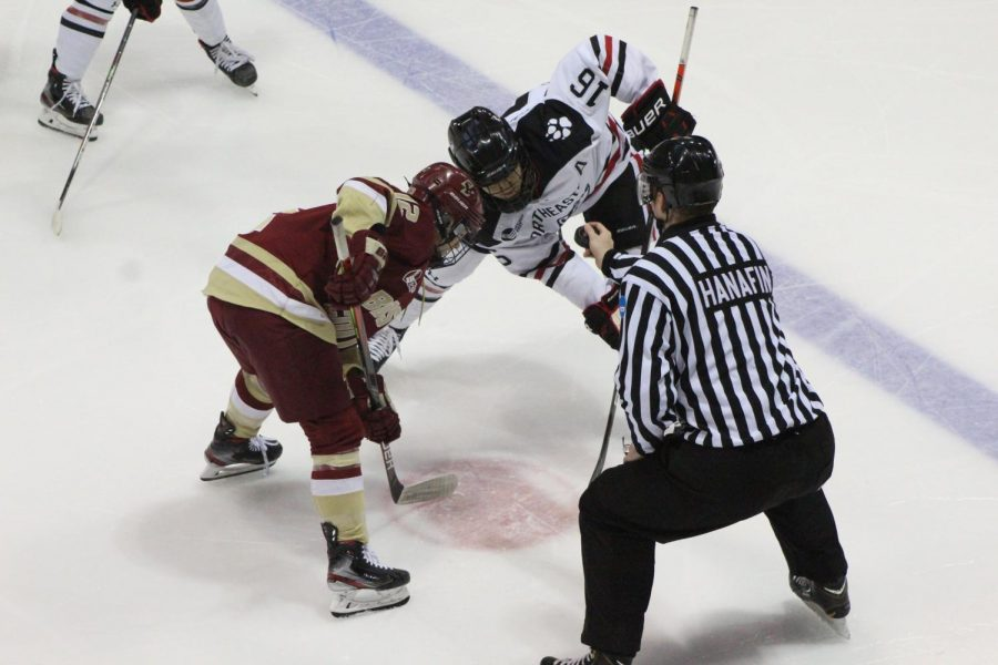 Huskies+win+4-1+to+Boston+College+in+their+first+game+of+the+winter+season.+