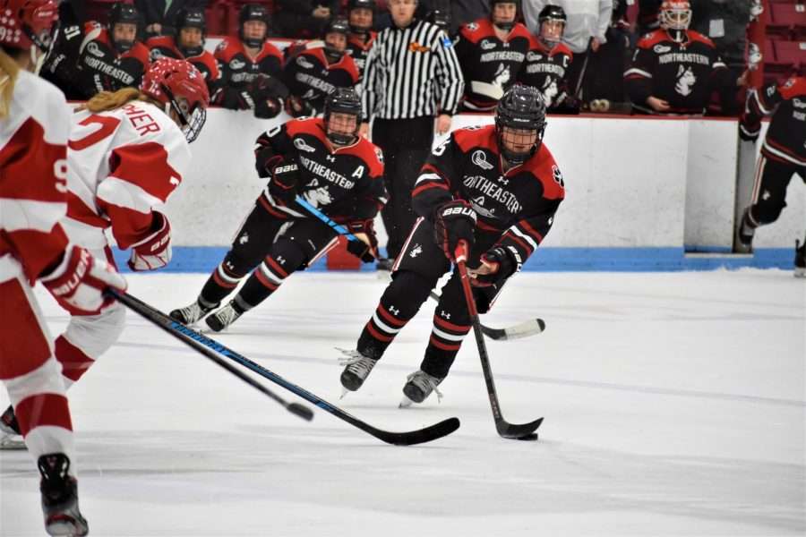 The women's hockey team is set to play their first game of the winter season against Boston College on Friday.