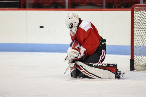 Goaltender Devon Levi proved his worth at the 2020 IIHF World Juniors and has since returned to the Huskies.