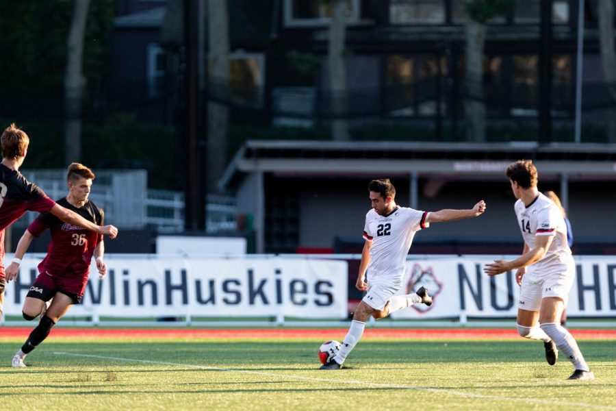 The Huskies were unable to score in their season opener Wednesday afternoon, falling 2-0 to UMass Amherst.