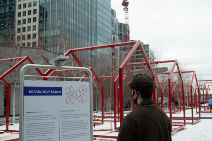 """""""Mi Casa, your Casa 2.0"""" is on display at Seaport Common until March 14"""