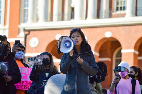 Boston mayoral candidate Michelle Wu said she will prioritize community connections, the COVID-19 vaccine rollout and eliminating barriers faced by minority groups if elected mayor.