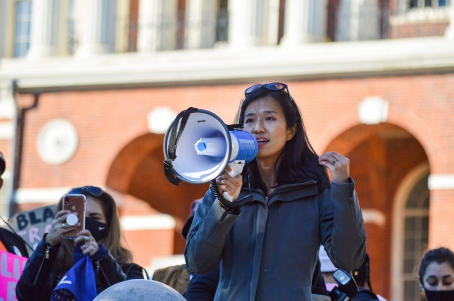 City Councilor Michelle Wu has already announced her candidacy for the November mayoral elections. She would also be eligible to run in the special election if it happens.