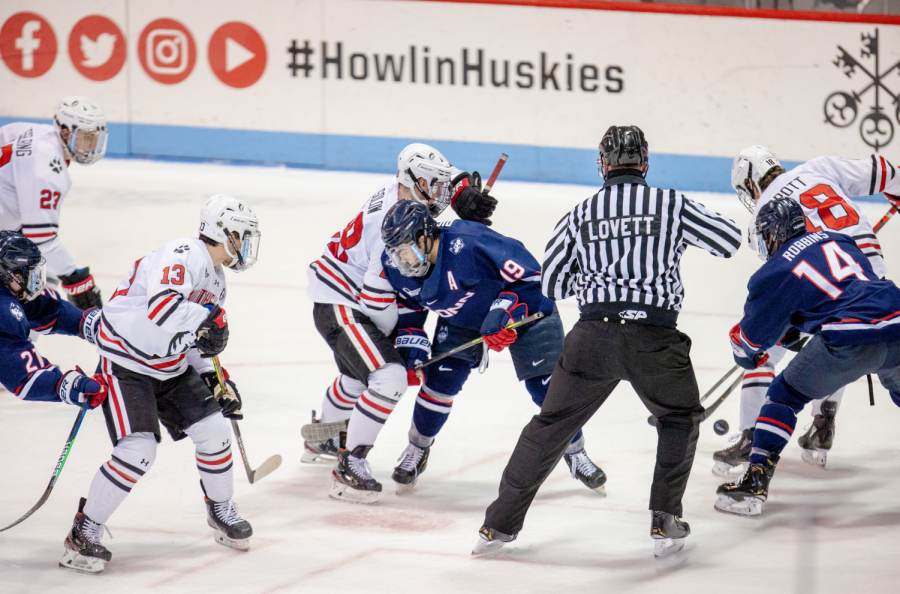 No. 14 Northeastern men's hockey heavily outplayed in 4-1 loss to UConn