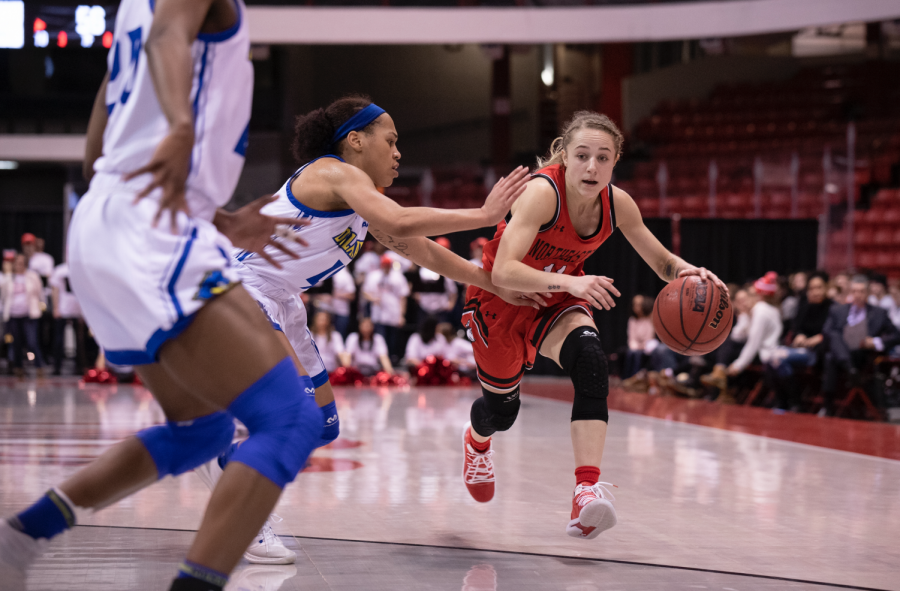 Northeastern drops all four games to Delaware this season