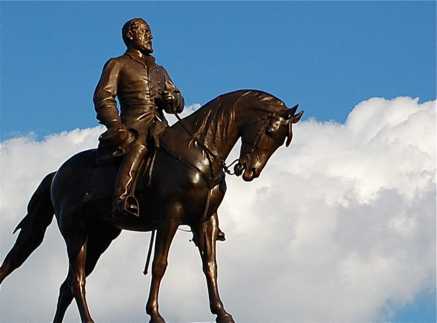 Many statues, such as this one honoring Confederate General Robert E. Lee, have sparked controversy.