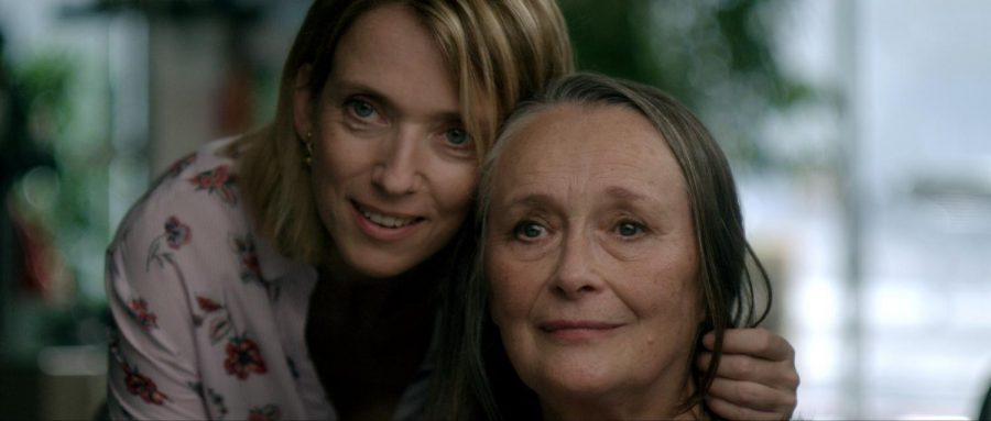 Martine Chevallier and Léa Drucker in TWO OF US, a Magnolia Pictures release.