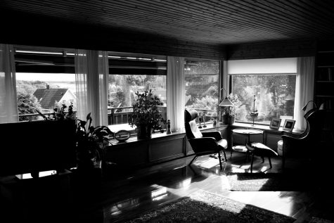 """Black and White Interior (b&w)(Sweden)"" by runintherain is licensed with CC BY-NC-SA 2.0. To view a copy of this license, visit https://creativecommons.org/licenses/by-nc-sa/2.0/"