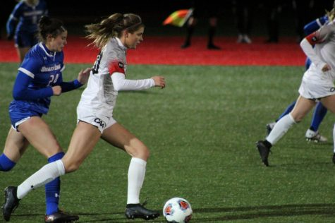 The Huskies managed to cling onto victory Sunday afternoon as they played against University of Rhode Island, coming out with a narrow 1-0 victory.