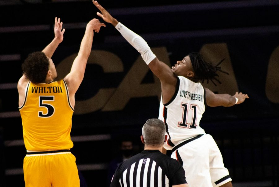 The combination of team scoring and effective rebounding from Drexel ended Jahmyl Telfort and the Huskies' season Monday night.