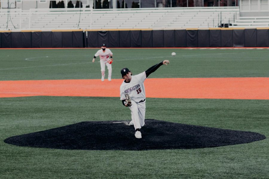 The+Northeastern+baseball+team+fell+in+this+weekends+series+against++Old+Dominion+University%2C+with+a+record+of+3-4.+