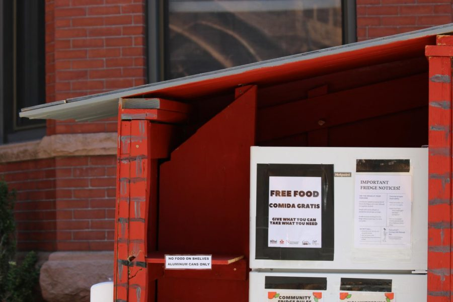 Mutual Aid recently opened a community fridge at 70 Saint Stephen St in partnership with Northeastern Hillel, The Catholic Center, the Center for Spirituality, Dialogue and Service, Israel Campus Roundtable, and with Fair Foods.