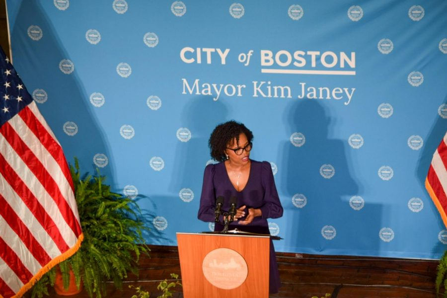 On Tuesday, Acting Boston Mayor Kim Janey joined the mayoral election race.