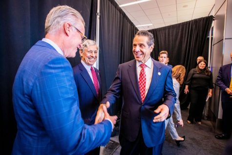 Former New York Gov. Andrew Cuomo was accused of sexual assault and harassment.