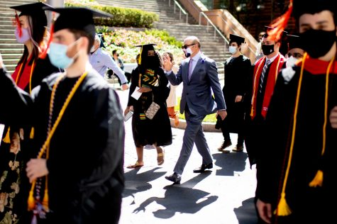 Q&A: President Aoun discusses returning to Northeastern, diversity issues