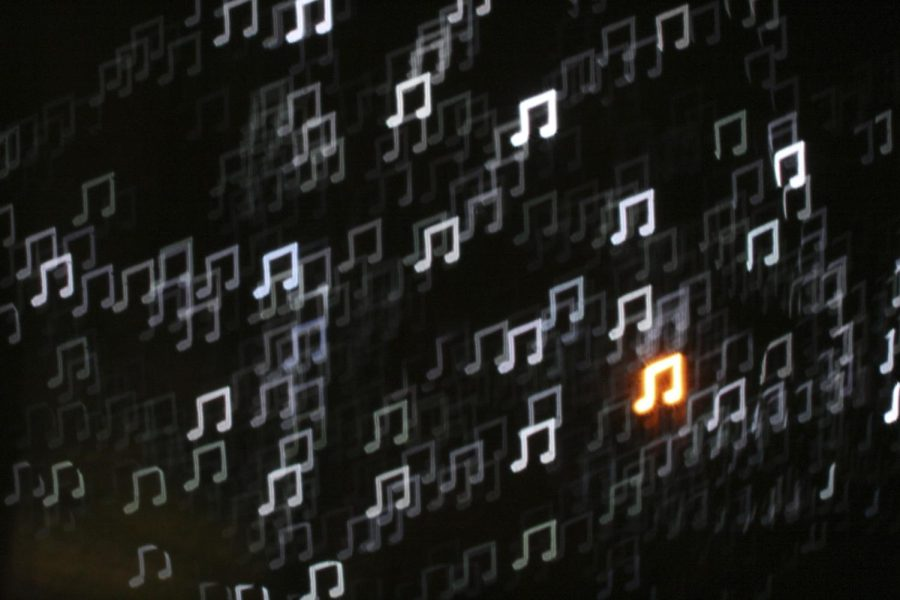 Music Note Bokeh by all that improbable blue is licensed under CC BY-NC-SA 2.0