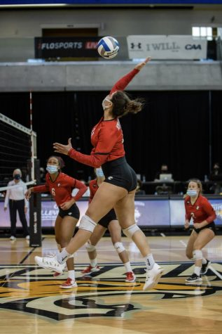 Northeastern volleyball will take on James Madison on Oct. 30.