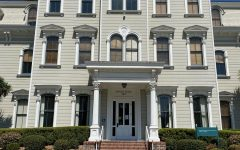 """Mills Hall at Mills College houses the school's office of the president. The college, the latest addition to Northeastern University's """"global network"""", will focus on empowering women, first-generation students and students of color."""